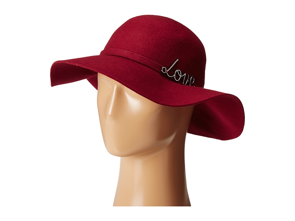 BCBGeneration - In Love Floppy (Deep Maroon) Traditional Hats