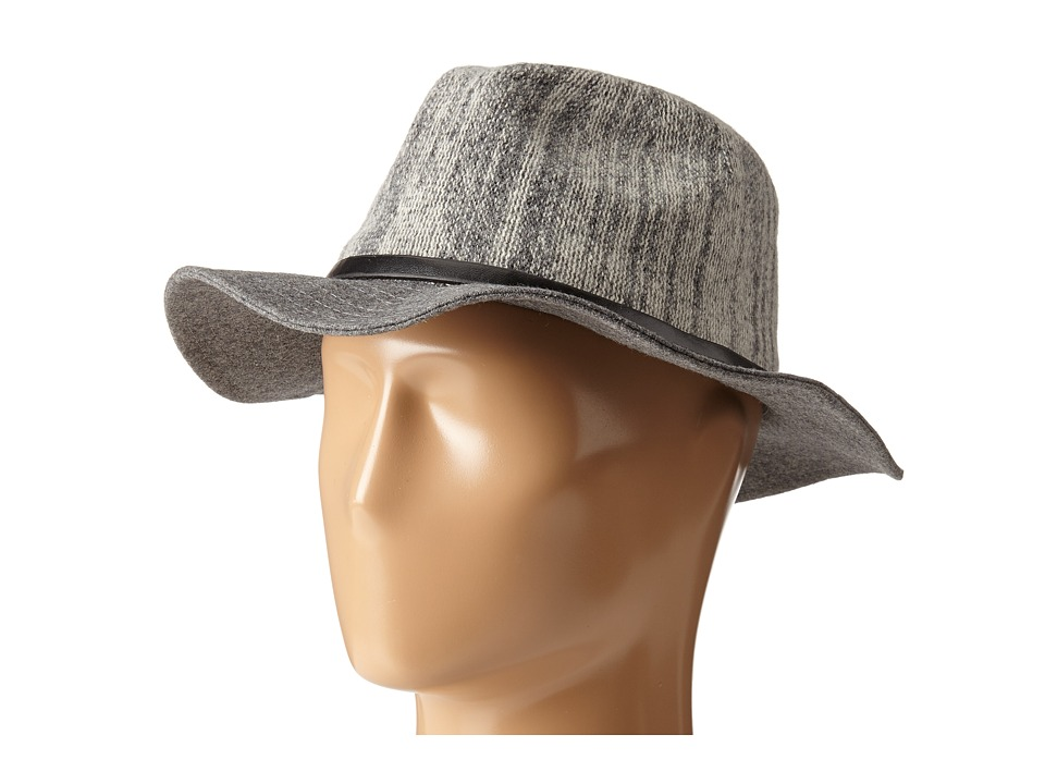 BCBGeneration - Heathered Panama (Heather Grey) Traditional Hats