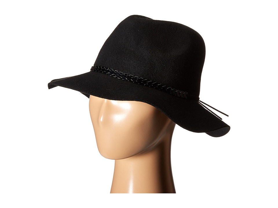 BCBGeneration - Chained Panama (Black) Traditional Hats
