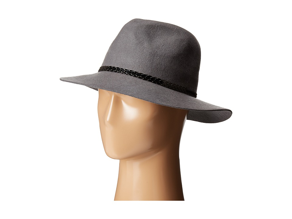 BCBGeneration - Chained Panama (Heather Grey) Traditional Hats