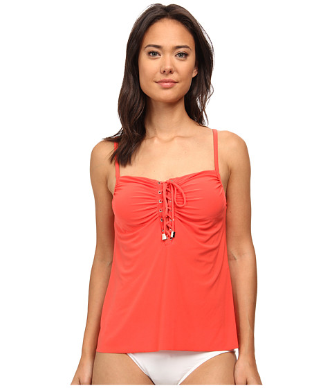 Magicsuit - Solid Jezebel Top (Guava) Women
