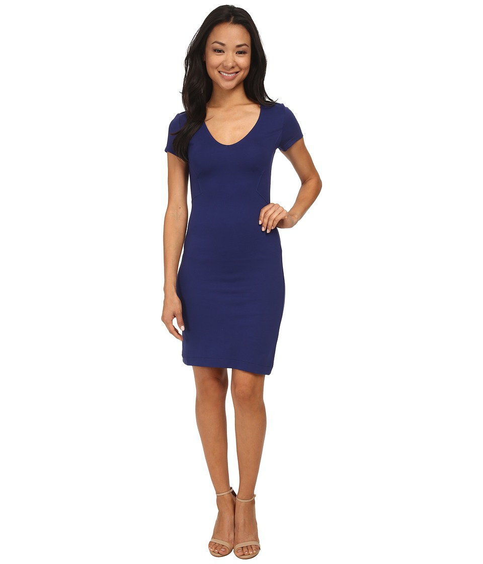 French Connection - Marie Stretch Dress 71DIB (Maya Blue) Women's Dress
