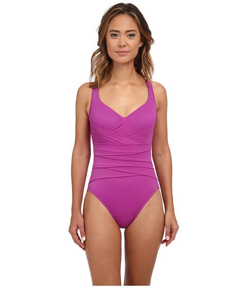 Magicsuit - Solid Zoe Swimsuit (Orchid) Women's Swimsuits One Piece