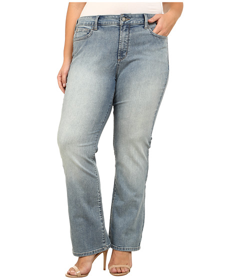 NYDJ Plus Size - Plus Size Billie Mini Bootcut in Eagle Creek (Eagle Creek) Women's Jeans