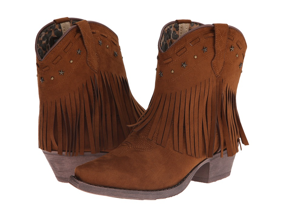 Dingo Cassidy (Rust Suede) Cowboy Boots