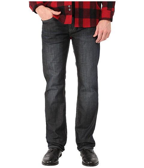 Buffalo David Bitton - Six Slim Straight Leg Jeans in Mercer (Naturally Sanded/Worn) Men
