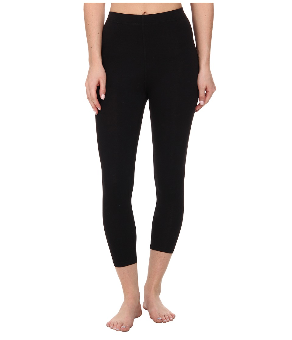 Betsey Johnson - Capri Leggings (Black) Women's Capri