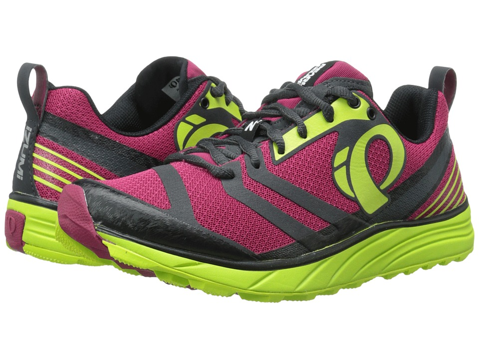 Pearl Izumi - EM Trail N 2 v2 (Cerise/Lime Punch Methyl) Women's Running Shoes
