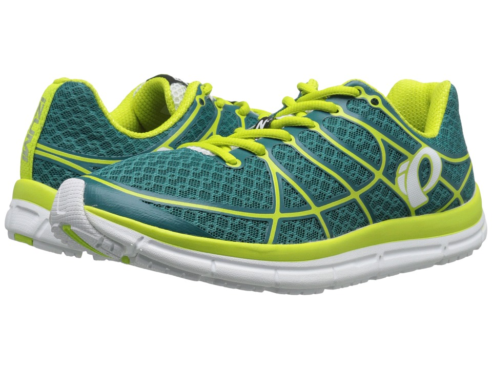 Pearl Izumi - EM Road N 2 v2 (Deep Lake/Lime Punch) Women's Running Shoes
