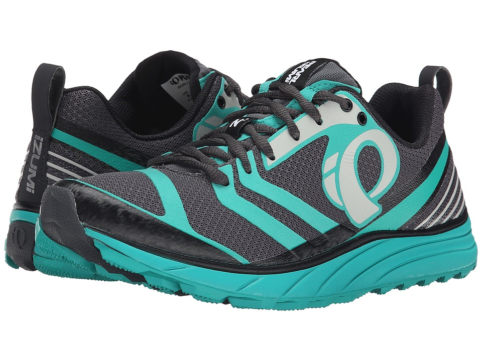 Pearl Izumi - EM Trail N 2 v2 (Shadow Grey/Dynasty Green) Women's Running Shoes