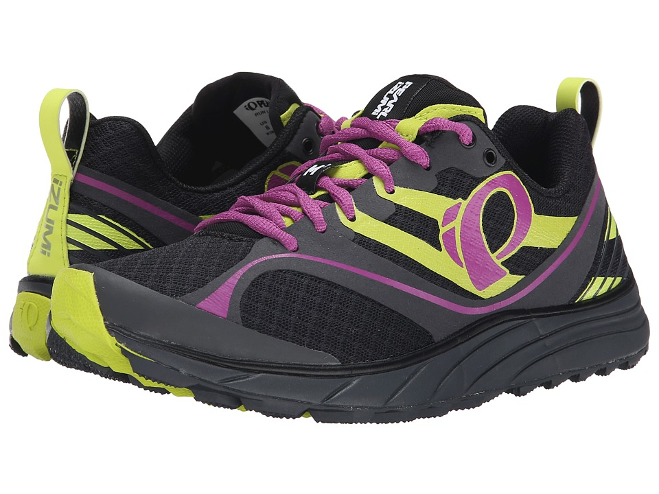 Pearl Izumi - EM Trail M 2 v2 (Black/Meadow Mauve) Women's Running Shoes
