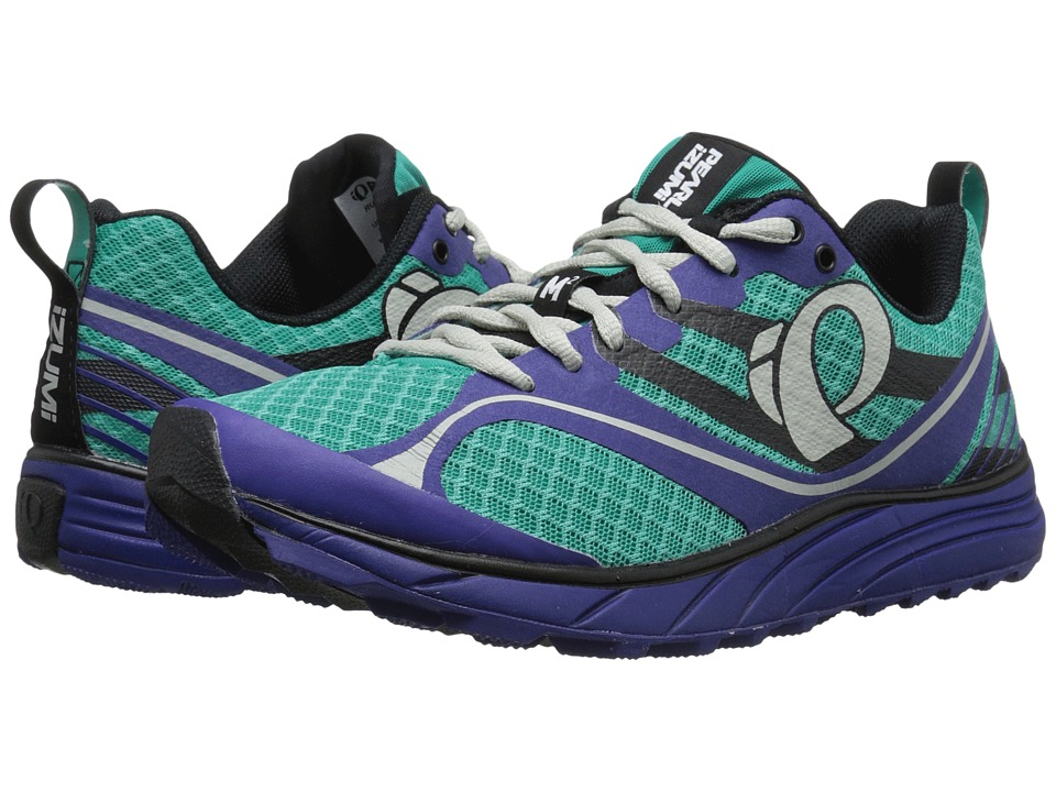 Pearl Izumi - EM Trail M 2 v2 (Dynasty Green/Deep Wisteria) Women's Running Shoes