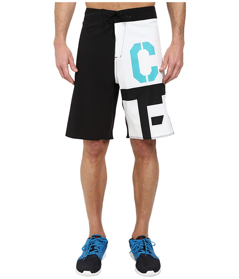 Reebok - CrossFit Bonded Graphic Short (Black) Men