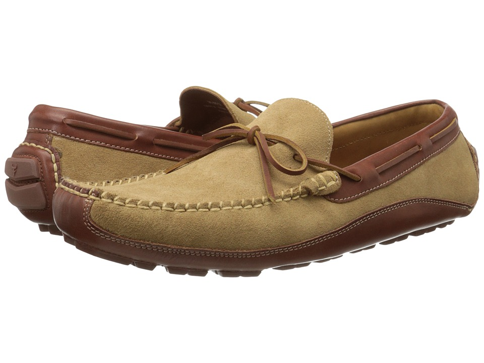 Trask - Drake (Camel Water Resistant Suede) Men's Shoes