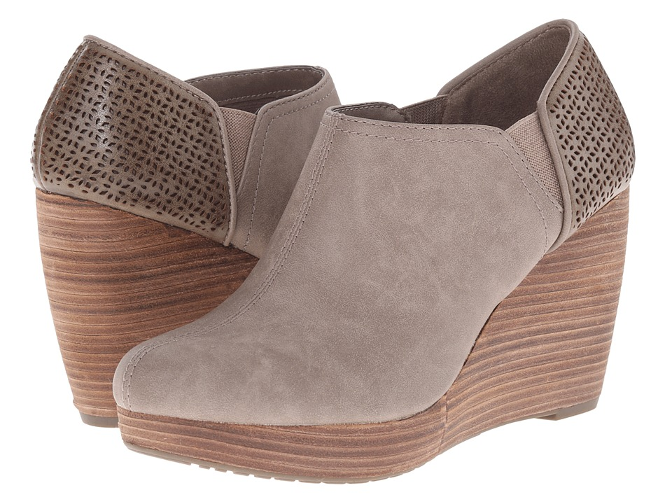 Dr. Scholl's - Harlow (Taupe) Women's Wedge Shoes
