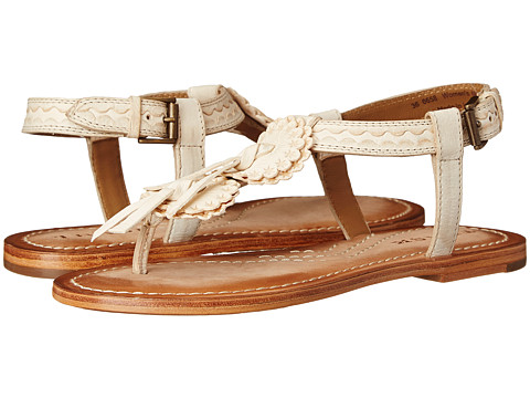 Trask - Saige (Cream Italian Calfskin) Women's Dress Sandals
