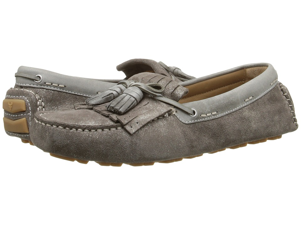 Trask - Aimee (Pewter Italian Suede) Women's Shoes