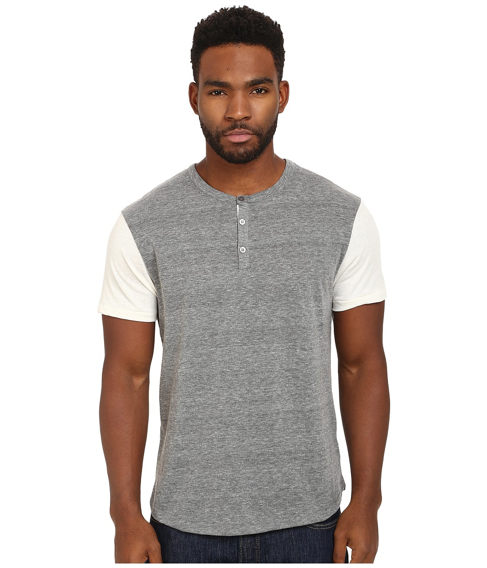Alternative - Home Run Tee (Eco Grey/Ivory) Men's Short Sleeve Pullover