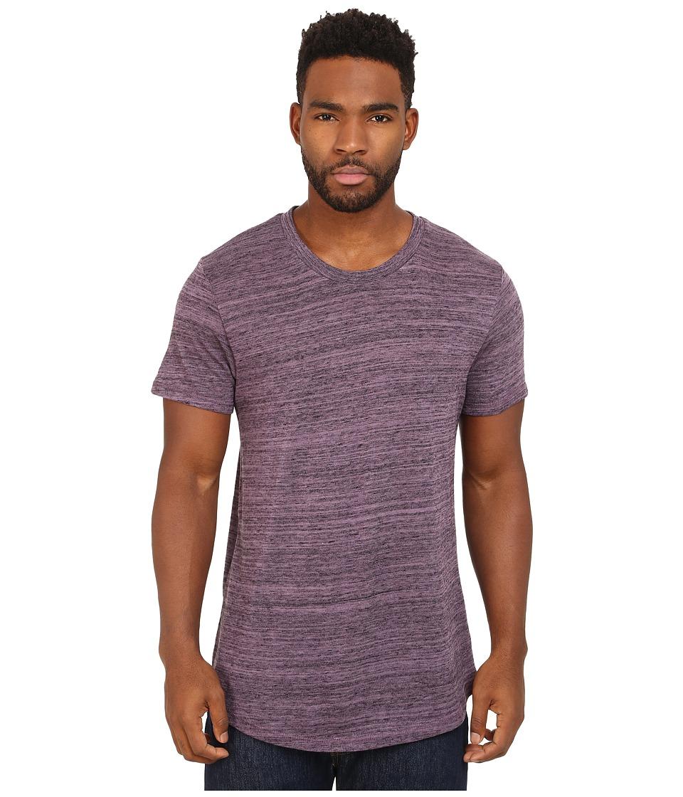 Alternative - Eco Space Dye Jersey Journeyman T-Shirt (Purple Haze) Men