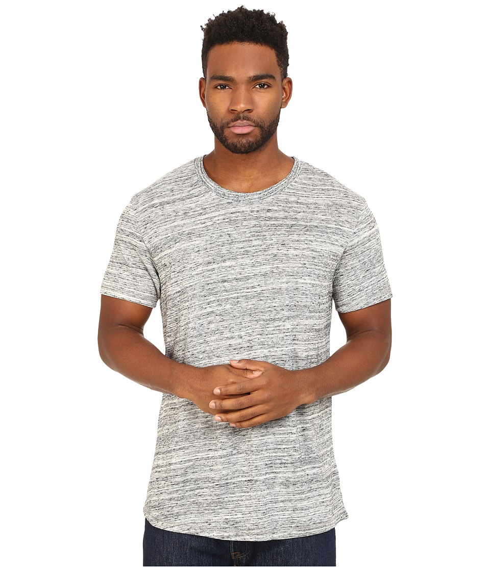 Alternative - Eco Space Dye Jersey Journeyman T-Shirt (Urban Grey) Men