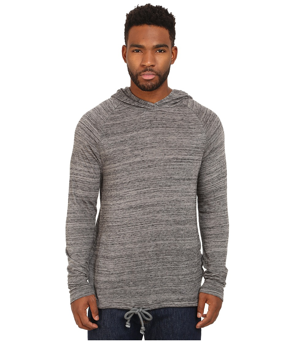 Alternative - Eco Space Dye Jersey Voyager Hoodie (Nickel) Men's Sweatshirt