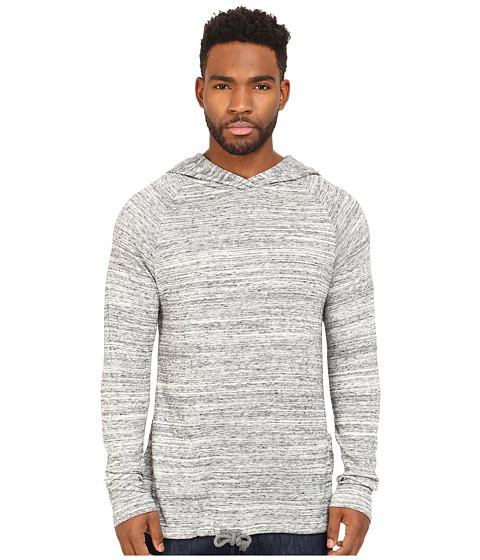Alternative - Eco Space Dye Jersey Voyager Hoodie (Urban Grey) Men