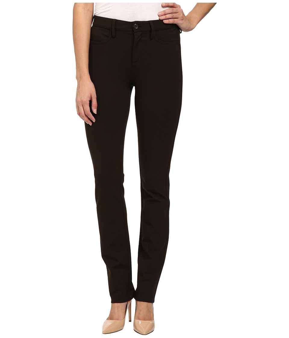NYDJ - Samantha Slim Ponte (Molasses) Women's Casual Pants