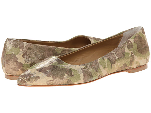 UGG Collection - Linda Metallic (Metallic Green Camo) Women's Flat Shoes