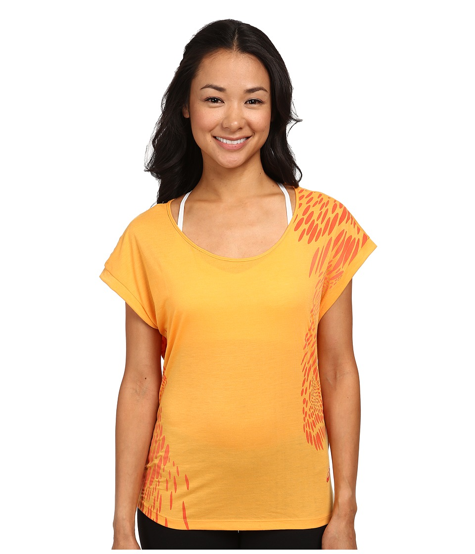 ASICS - Flex Short Sleeve Tee (Fizzy Peach) Women's T Shirt