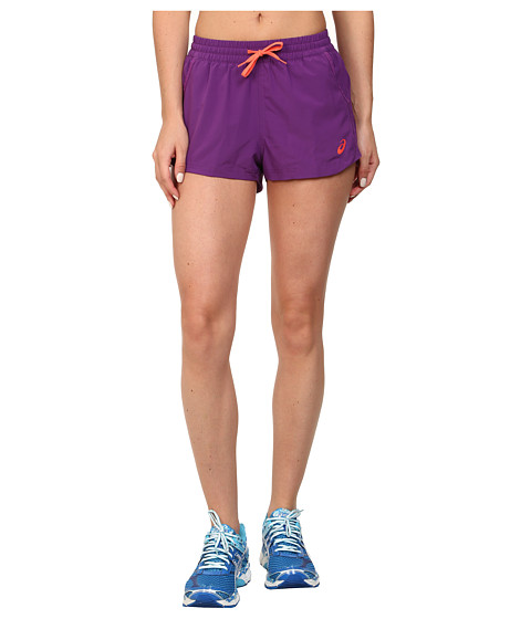 ASICS - Woven Shorts (Purple Magic) Women's Shorts