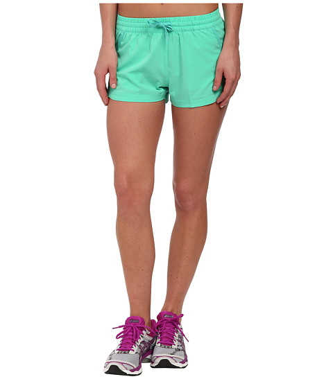 ASICS - Woven Shorts (Cool Mint) Women's Shorts
