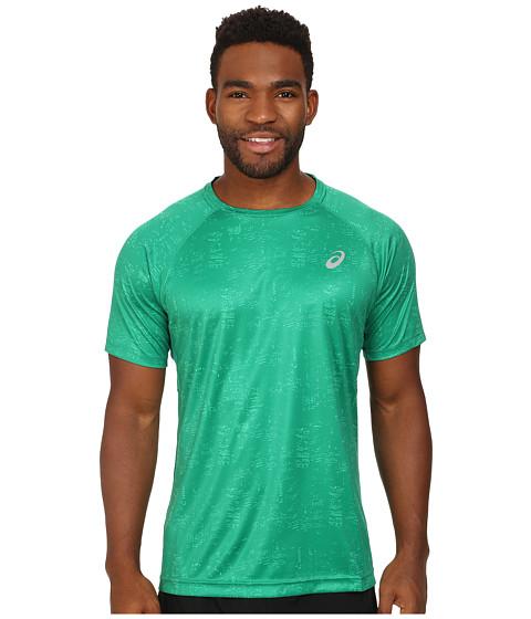 ASICS - Graphic Short Sleeve Top (Skyline Jungle Green) Men