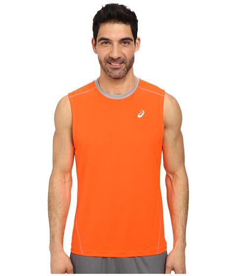 ASICS - PR Lyte Sleeveless Top (Shocking Orange/Frost) Men's Sleeveless