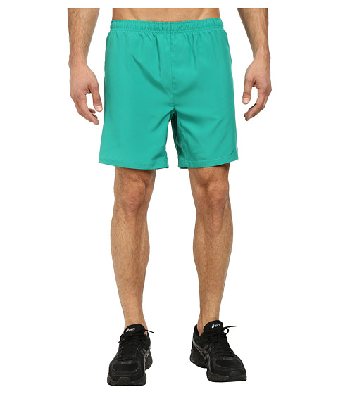 ASICS - Woven Shorts 7 (Jungle Green) Men's Shorts