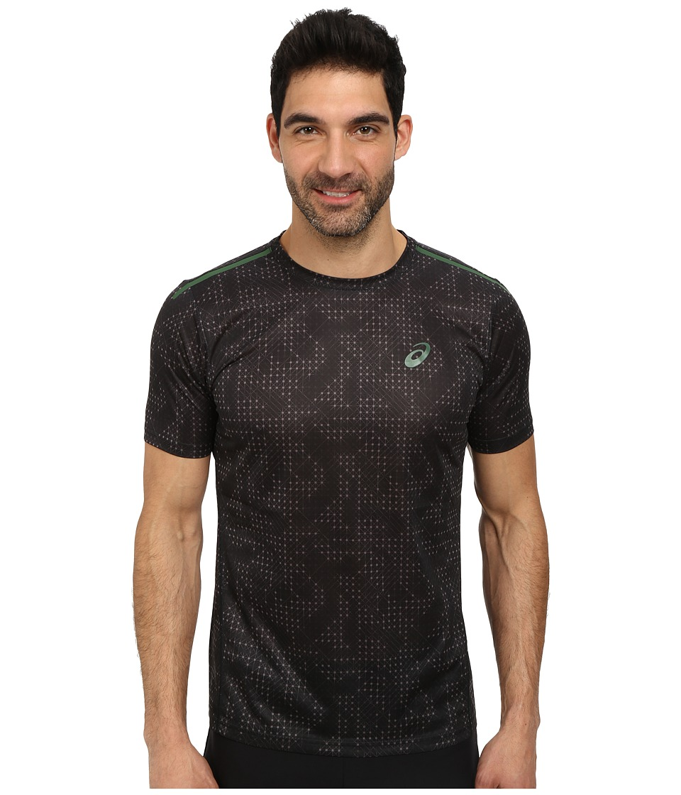 ASICS - Printed Tee (Performance Black Grid) Men's T Shirt