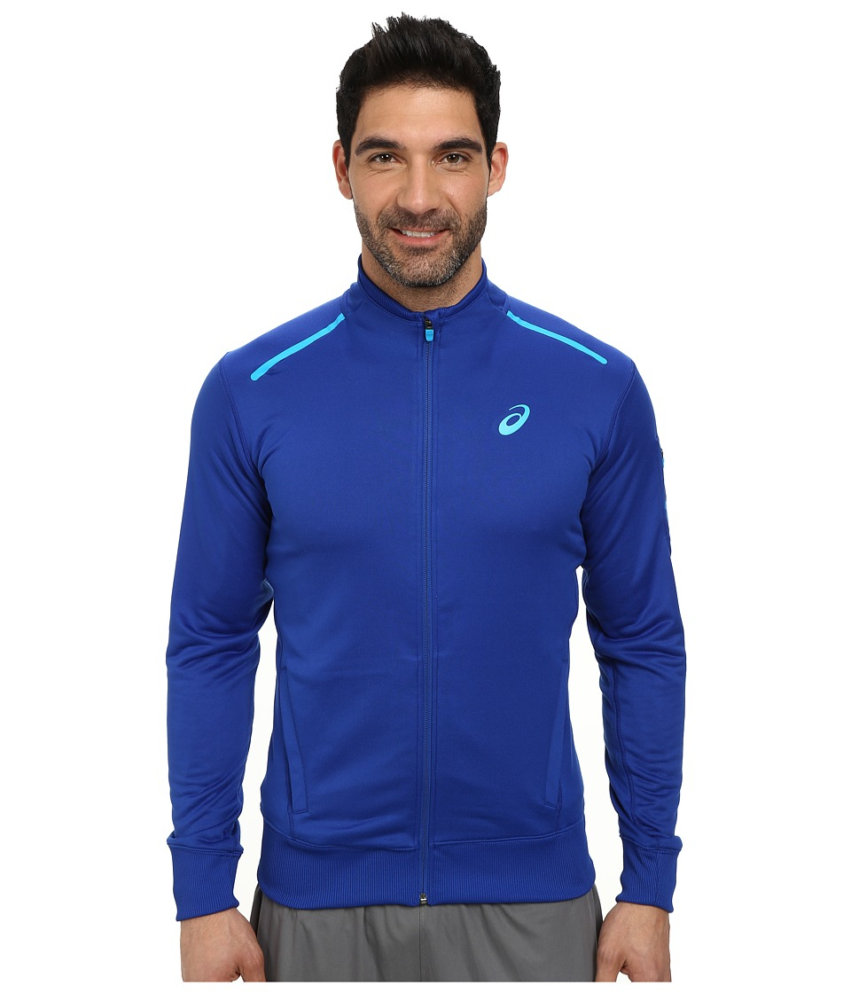 ASICS - Track Jacket (Air Force Blue Heather) Men