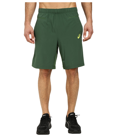 ASICS - Woven Shorts 9 (Oak Green) Men's Shorts