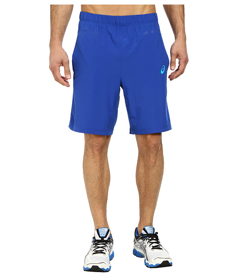 ASICS - Woven Shorts 9 (Air Force Blue) Men's Shorts