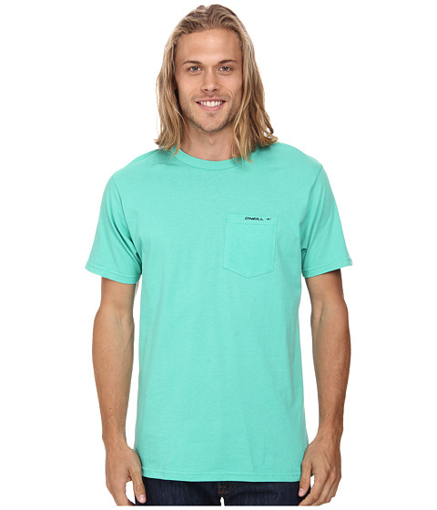 O'Neill - The Code Short Sleeve Screen Tee (Jade) Men's Short Sleeve Pullover