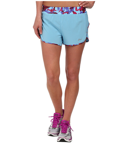 ASICS - Distance Shorts (Natural Blue/Natural Blue Collage) Women