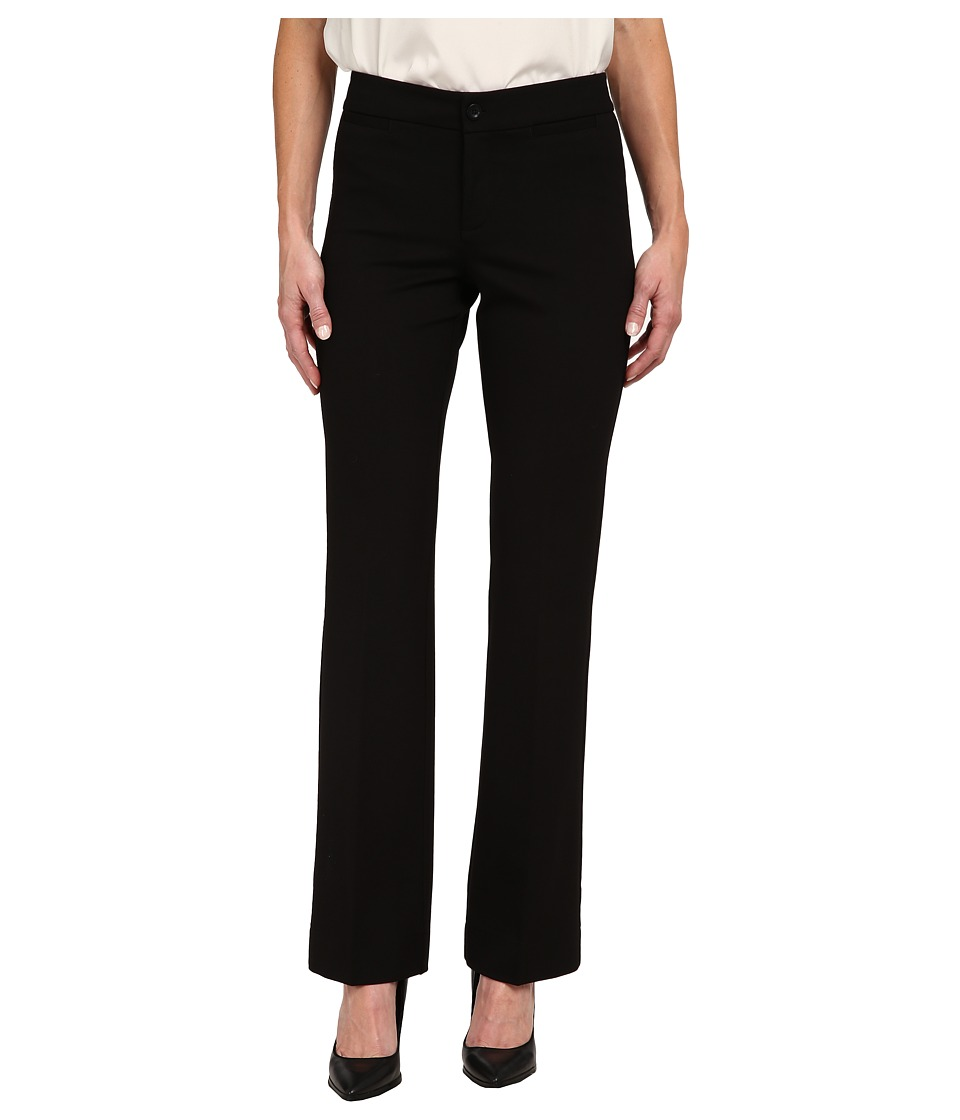NYDJ - Michelle Ponte Trouser (Black) Women's Casual Pants