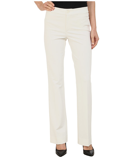 NYDJ - Michelle Ponte Trouser (Winter White) Women's Casual Pants