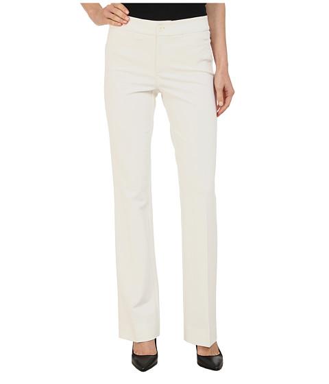 NYDJ - Michelle Ponte Trouser (Winter White) Women's Casual Pants