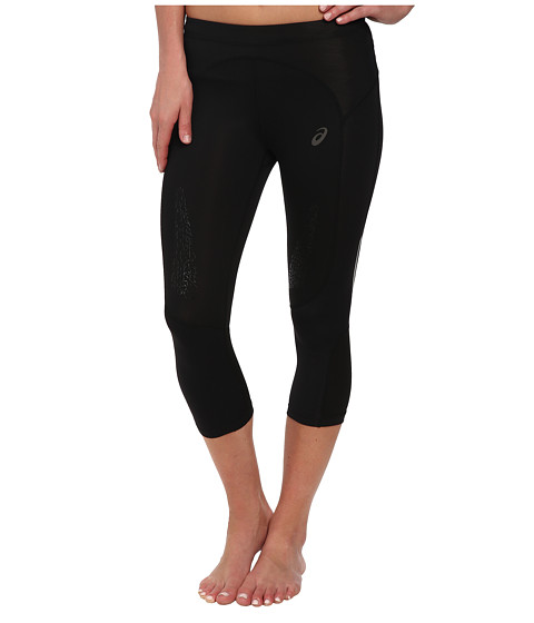 ASICS - FujiTrail Knee Tights (Performance Black) Women's Casual Pants