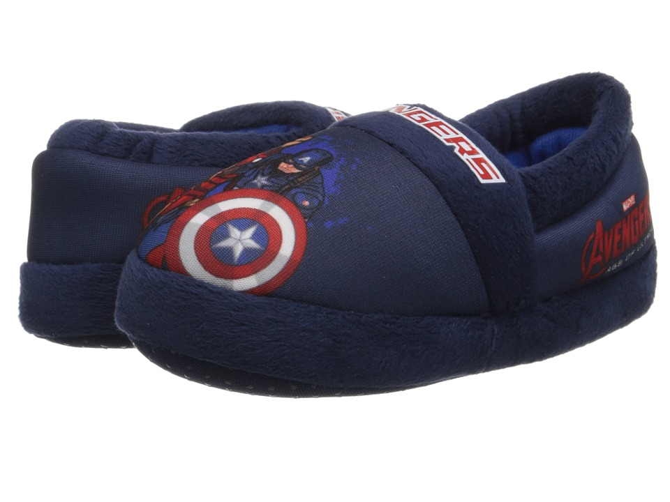 Favorite Characters - Avengers AVF203 Slipper (Toddler/Little Kid) (Blue) Boys Shoes
