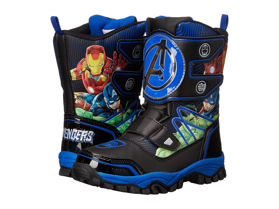 Favorite Characters - Avengers AVF001 Snow Boot (Toddler/Little Kid) (Black) Boys Shoes
