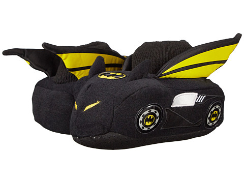Favorite Characters - Batman Batmobile BMF204 Slipper (Toddler/Little Kid) (Black) Boys Shoes