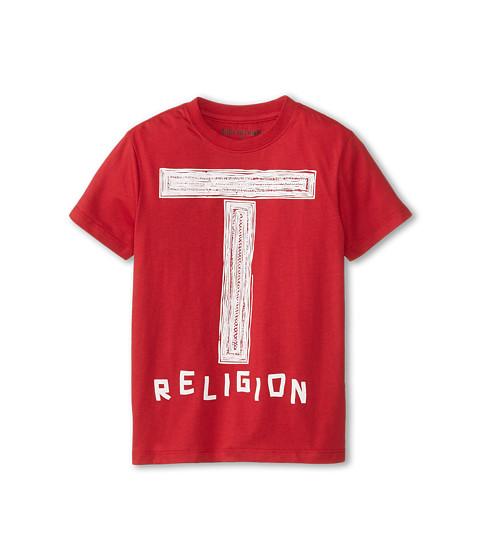 True Religion Kids - Graphic Tee (Little Kids) (True Red) Boy's T Shirt