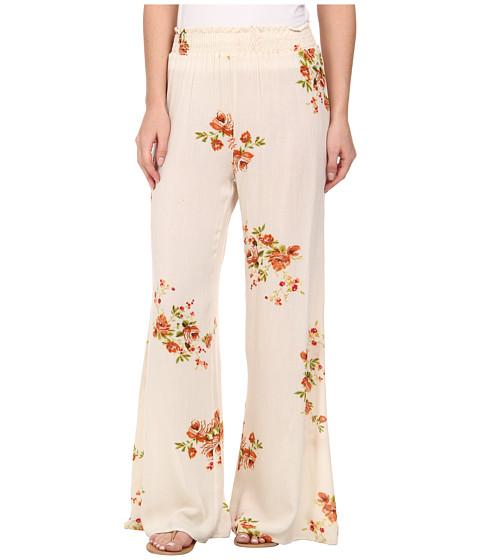Gabriella Rocha - Jena Floral Print Pants (Beige) Women
