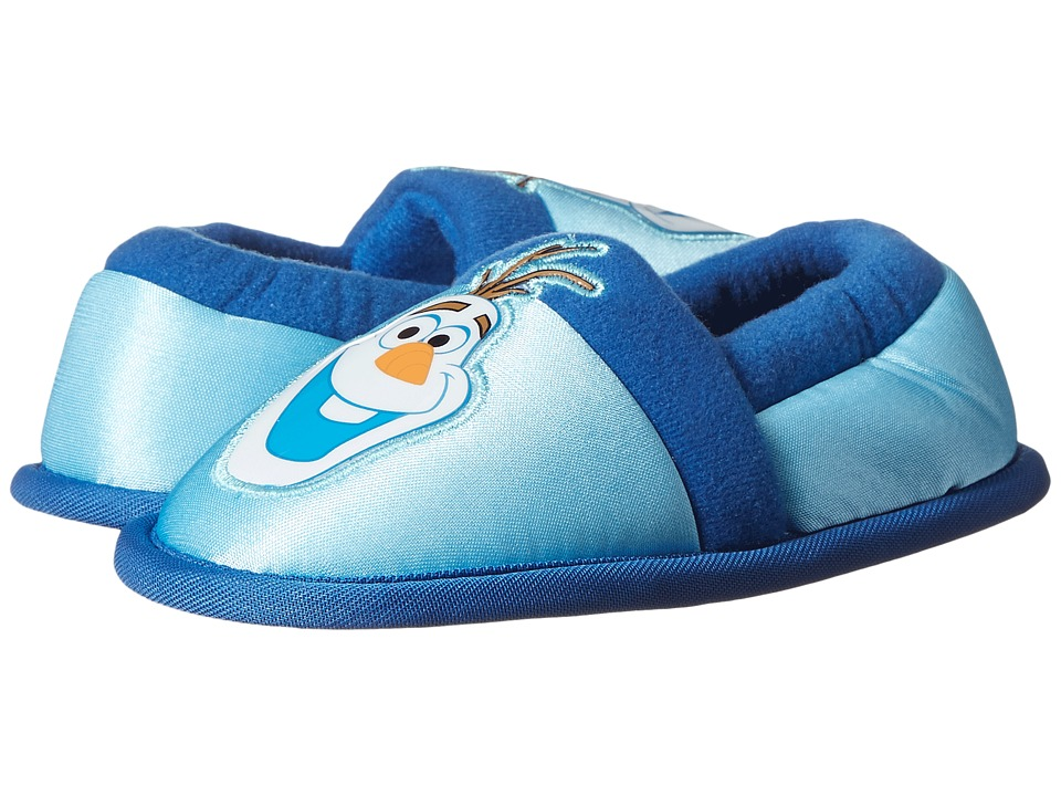 Favorite Characters - Disney Frozen Olaf FRF211 Slipper (Toddler/Little Kid) (Blue) Girls Shoes